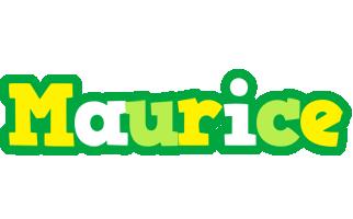 Maurice soccer logo