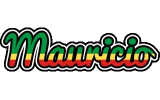 Mauricio african logo
