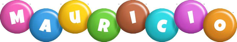 Mauricio candy logo