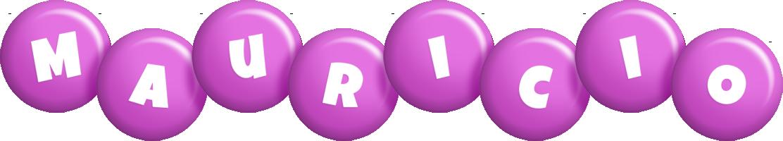 Mauricio candy-purple logo
