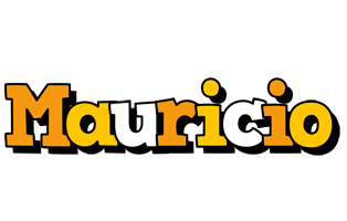Mauricio cartoon logo