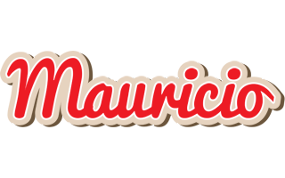 Mauricio chocolate logo