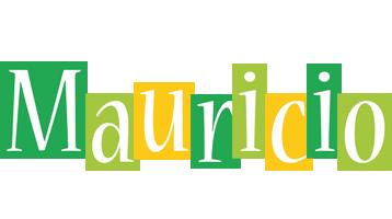 Mauricio lemonade logo