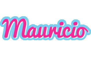 Mauricio popstar logo