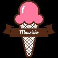 Mauricio premium logo