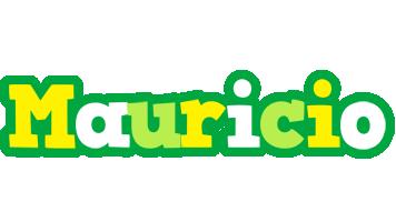 Mauricio soccer logo