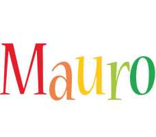 Mauro birthday logo