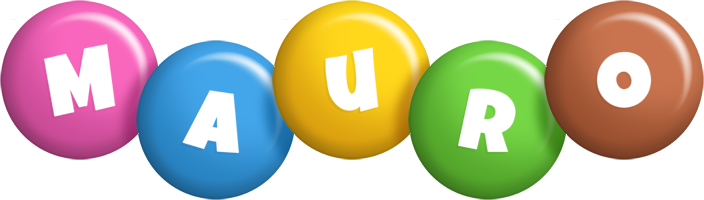 Mauro candy logo