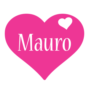 Mauro love-heart logo