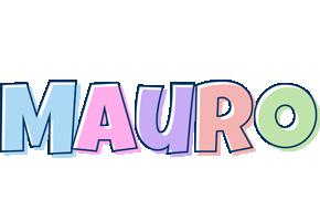 Mauro pastel logo