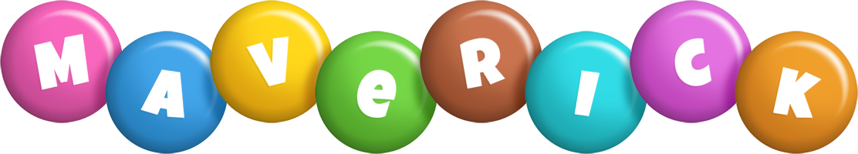 Maverick candy logo