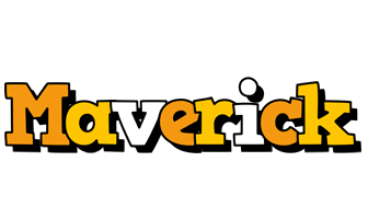 Maverick cartoon logo