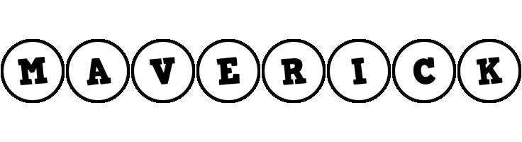 Maverick handy logo
