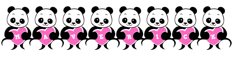 Maverick love-panda logo
