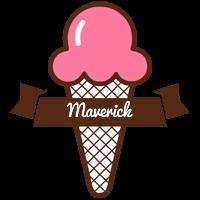 Maverick premium logo