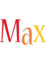 Max birthday logo