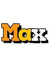 Max cartoon logo