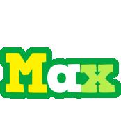 Max soccer logo