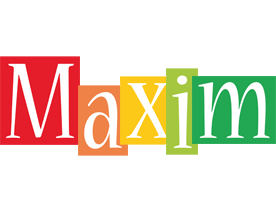 Maxim colors logo