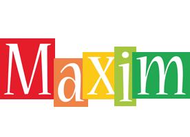 Maxim colors logo