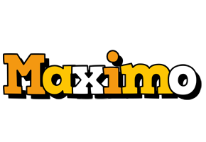 Maximo cartoon logo