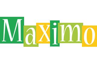 Maximo lemonade logo