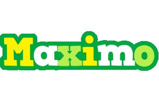 Maximo soccer logo