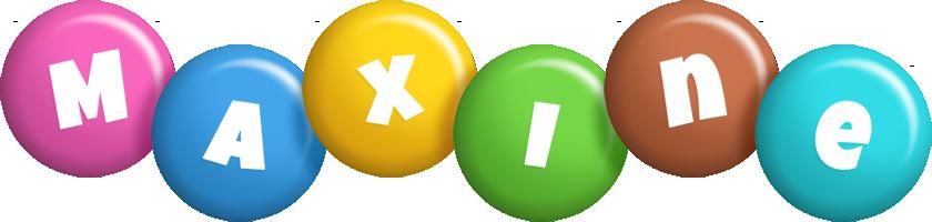 Maxine candy logo