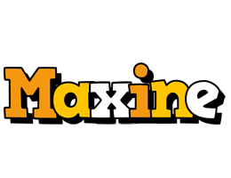 Maxine cartoon logo