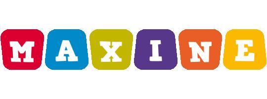 Maxine daycare logo