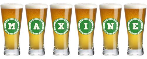 Maxine lager logo