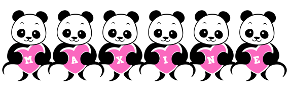 Maxine love-panda logo