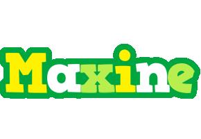 Maxine soccer logo