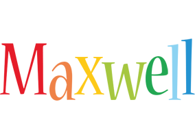 Maxwell birthday logo