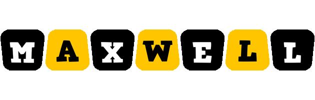 Maxwell boots logo