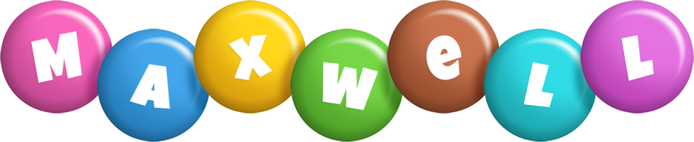Maxwell candy logo