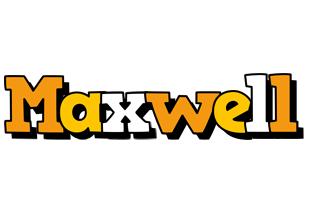 Maxwell cartoon logo