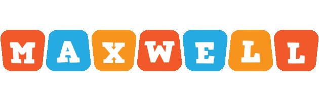 Maxwell comics logo
