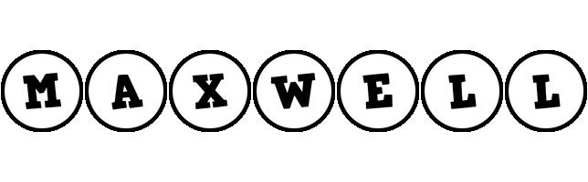 Maxwell handy logo