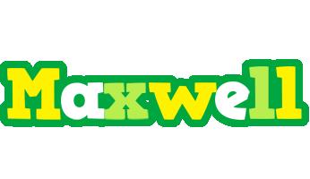 Maxwell soccer logo