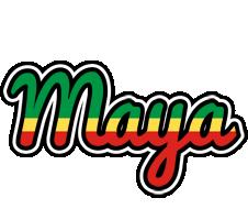 Maya african logo