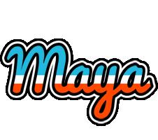 Maya america logo