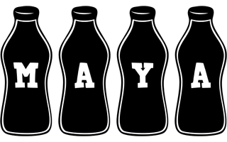 Maya bottle logo