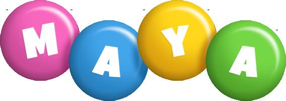 Maya candy logo