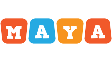 Maya comics logo