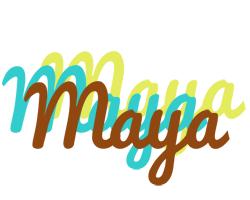Maya cupcake logo