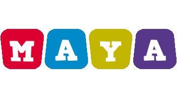 Maya daycare logo
