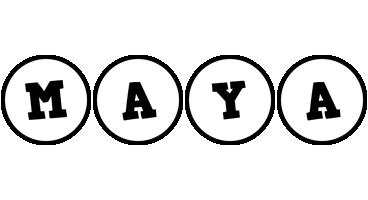 Maya handy logo