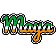 Maya ireland logo