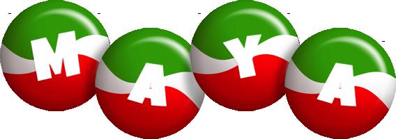 Maya italy logo